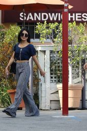 Vanessa Hudgens - Going to Bellwood Bakery in Studio City, October 2015