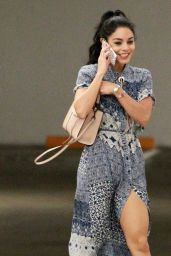 Vanessa Hudgens - Going to Hospital in Los Angeles, September 2015