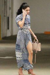 Vanessa Hudgens - Going to Hospital in Los Angeles, September 2015