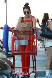 Vanessa Hudgens - Shopping in Studio City, October 2015