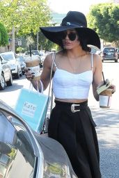 Vanessa Hudgens Street Fashion - Out in West Hollywood, October 2015