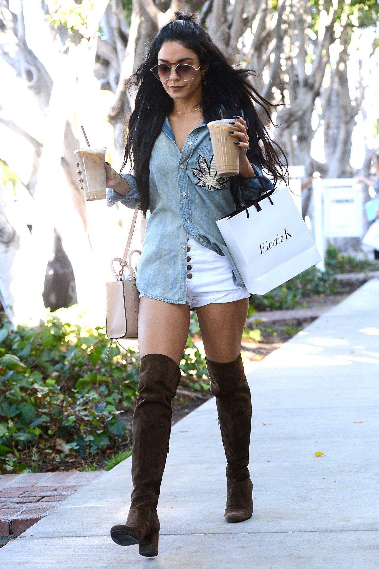 Vanessa Hudgens Street Style - Out in LA, October 2015