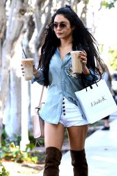 Vanessa Hudgens Street Style - Out in LA, October 2015