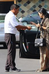 Vanessa Hudgens - Visting a Hair Salon in Los Angeles, October 2015