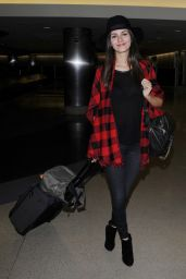 Victoria Justice at LAX Airport, October 2015