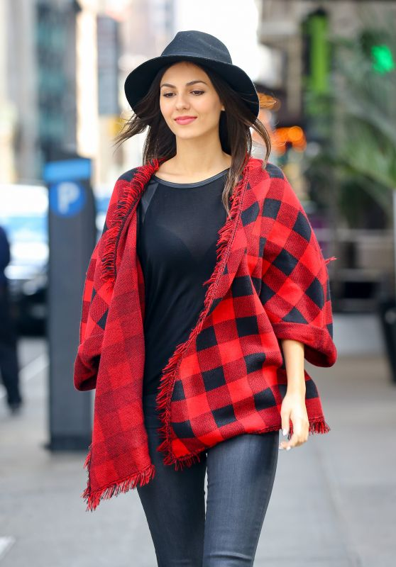 Victoria Justice - Out in NYC, October 2015