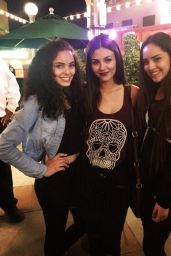 Victoria Justice - Universal's Halloween Horror Night, October 2015