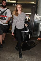 Whitney Port at LAX Airport, October 2015