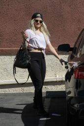 Witney Carson - At the Dancing With The Stars Studio in Hollywood, September 2015