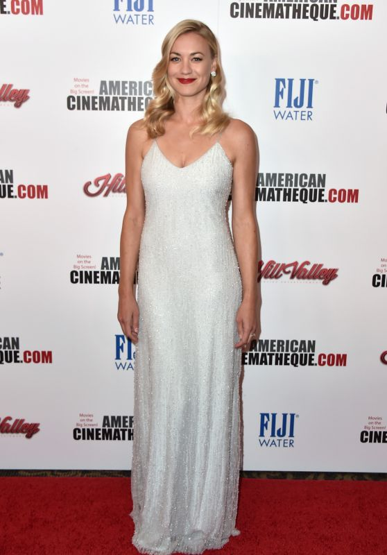 Yvonne Strahovski – 2015 American Cinematheque Award Honoring Reese Witherspoon in Los Angeles