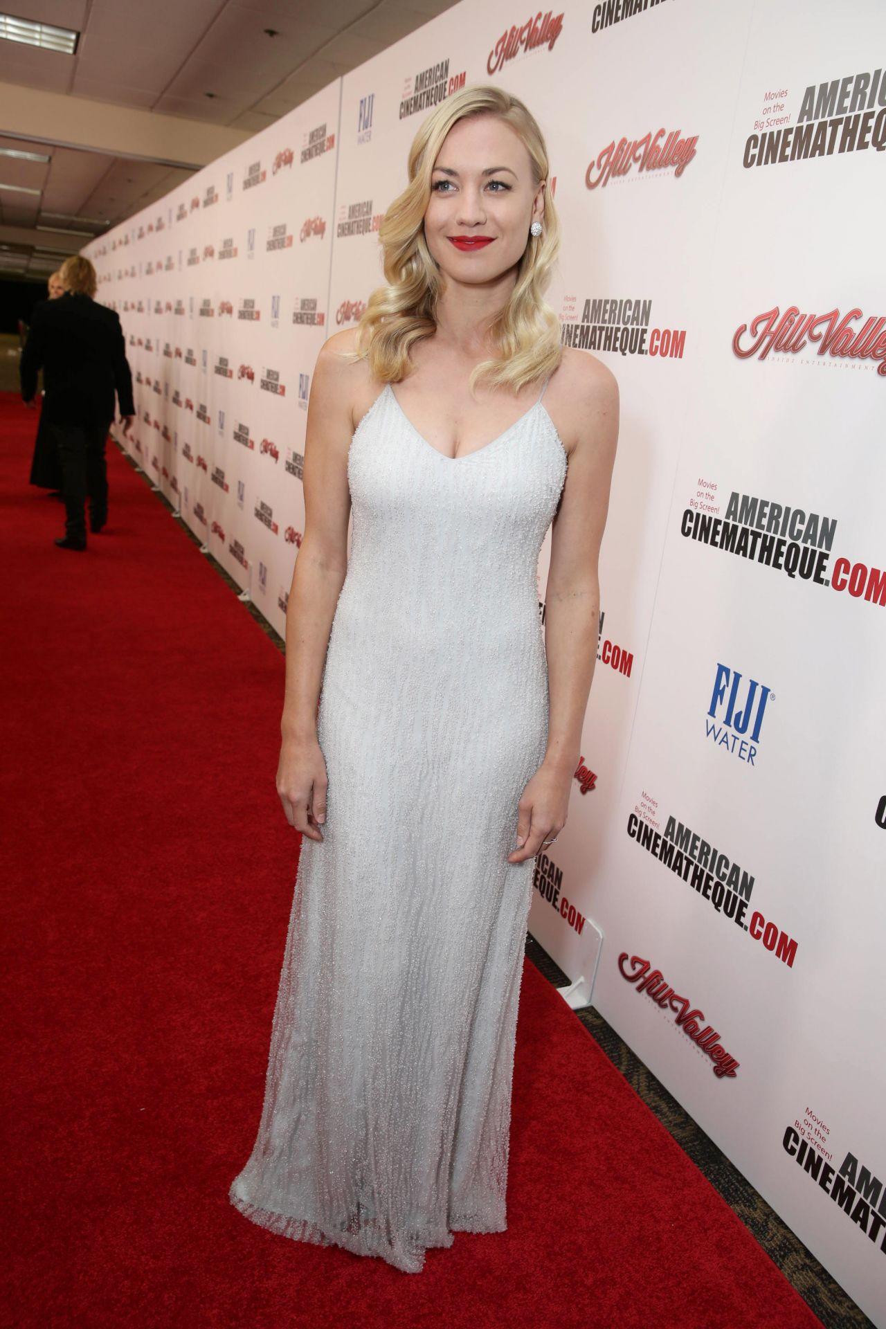 Yvonne Strahovski 2015 American Cinematheque Award