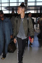 Zendaya - LAX Airport in Los Angeles, October 2015