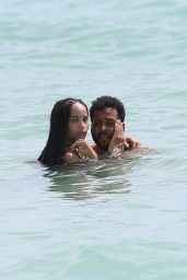 Zoe Kravitz Bikini Pics - at a Beach in Miami, October 2015