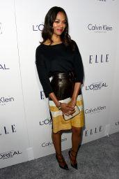 Zoe Saldana – 2015 ELLE Women in Hollywood Awards in Los Angeles