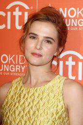 Zoey Deutch – 'No Kid Hungry Benefit Dinner' in Los Angeles, October 2015
