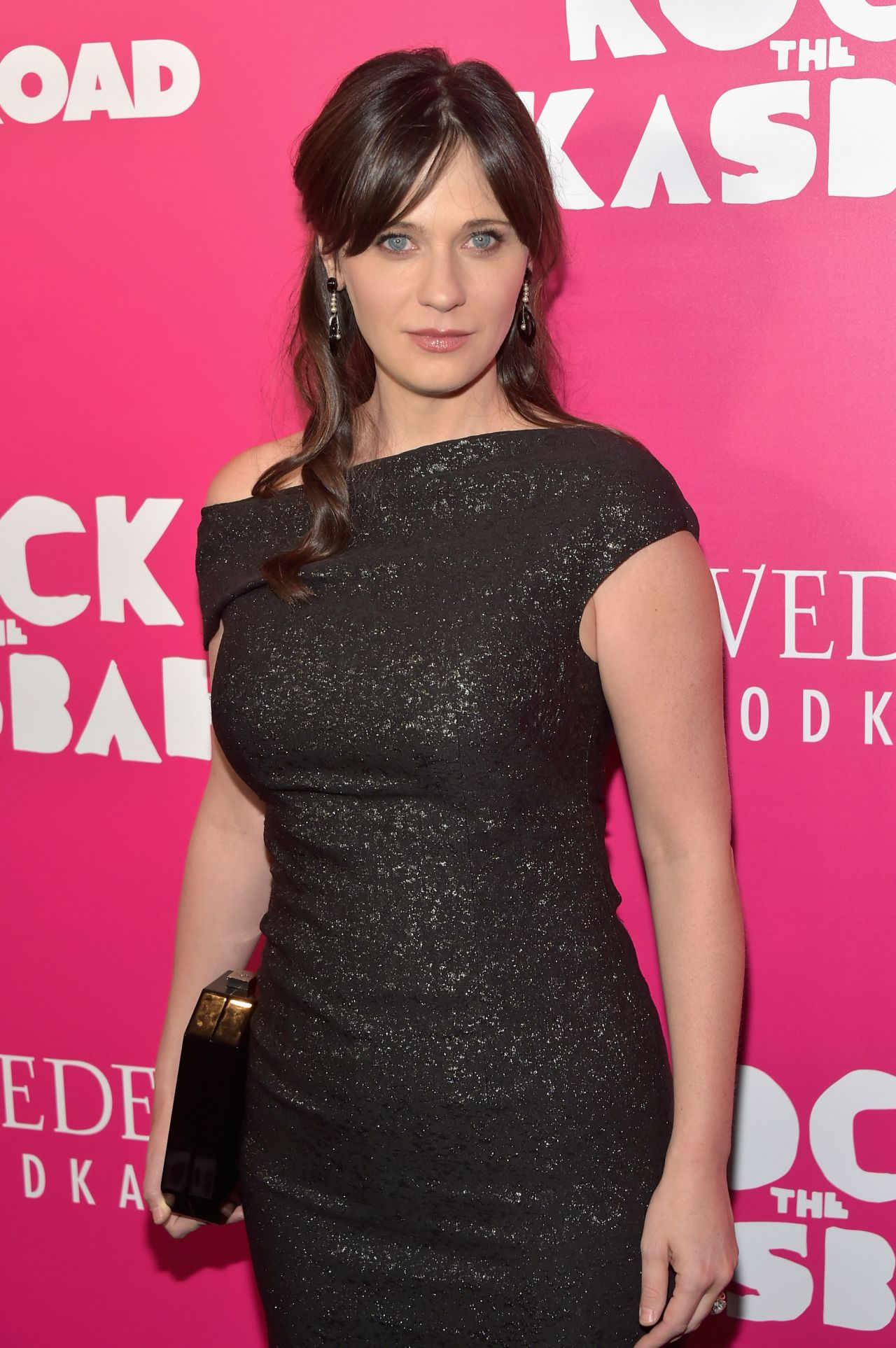 Zooey Deschanel Rock The Kasbah Premiere In New York