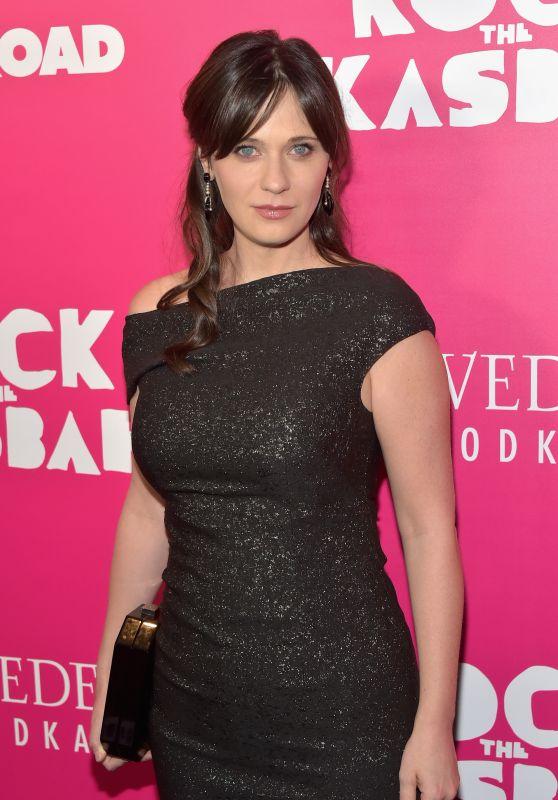 Zooey Deschanel – 'Rock The Kasbah' Premiere in New York
