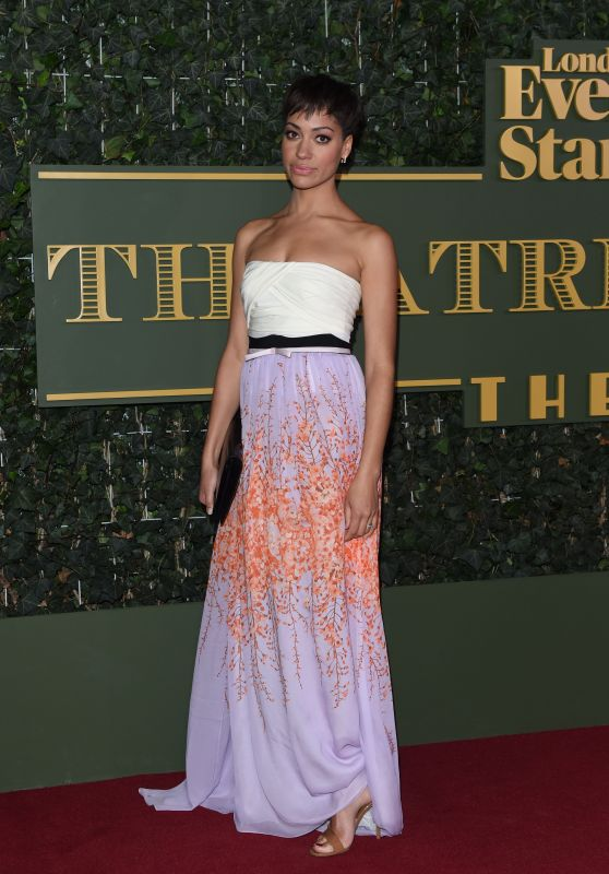 Cush Jumbo – 2015 Evening Standard Theatre Awards in London