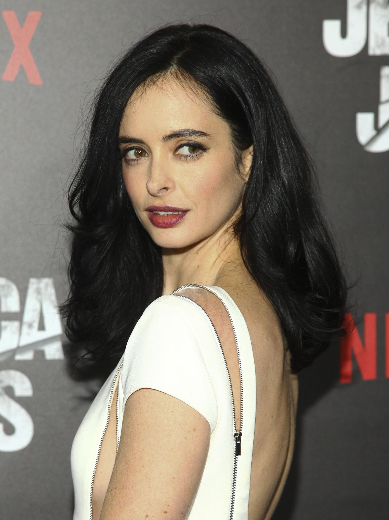 Krysten Ritter Jessica Jones Premiere In New York