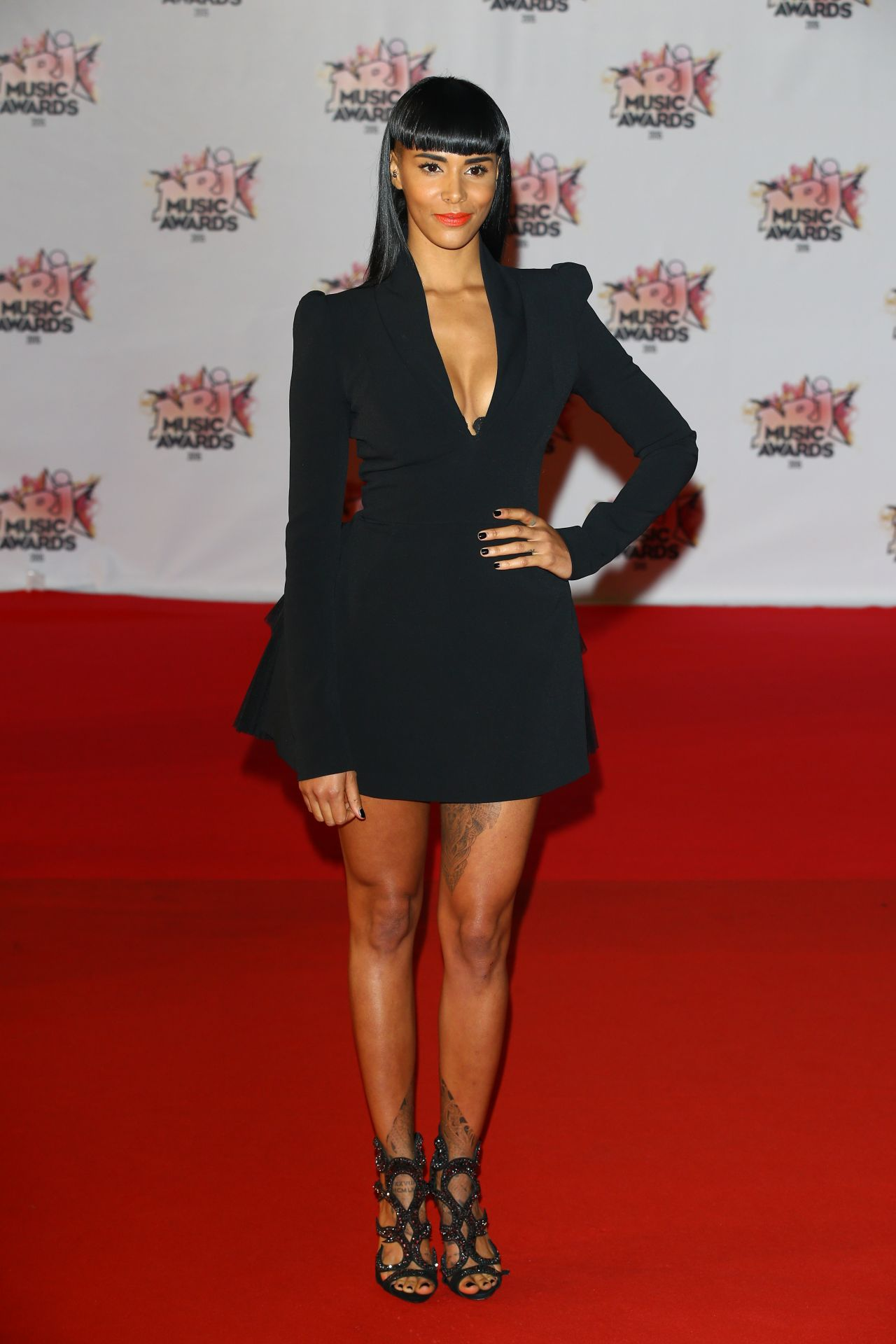 Shy M 2015 Nrj Music Awards At Palais Des Festivals In