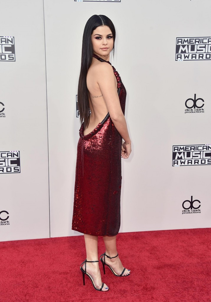 Selena Gomez - 2015 American Music Awards in LA