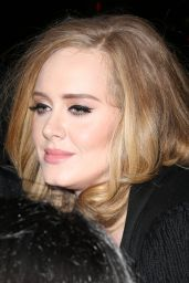 Adele - Out and About in New York City, November 2015