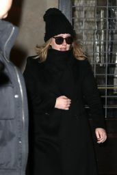 Adele - Out in New York City, November 2015