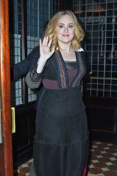 Adele - Outside a Hotel in New York City, November 2015