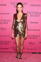 Adriana Lima – 2015 Victoria's Secret Fashion Show After Party in NYC