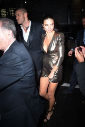 Adriana Lima – Arrives at Victoria's Secret Fashion Show After Party in NYC