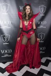 Alessandra Ambrosio - Heaven and Hell Halloween Party in Los Angeles, October 2015