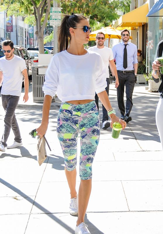 Alessandra Ambrosio - Out in Beverly Hills, November 2015