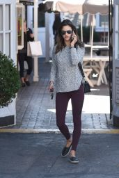 Alessandra Ambrosio - Out in Brentwood 11/18/2015