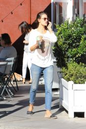 Alessandra Ambrosio Street Style - Out in Brentwood, November 2015