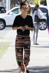 Alessandra Ambrosio Street Style - Out in West Hollywood, November 2015