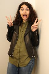 Alessia Cara - Backstage Before Her Performance at the Soho Apple Store in New York