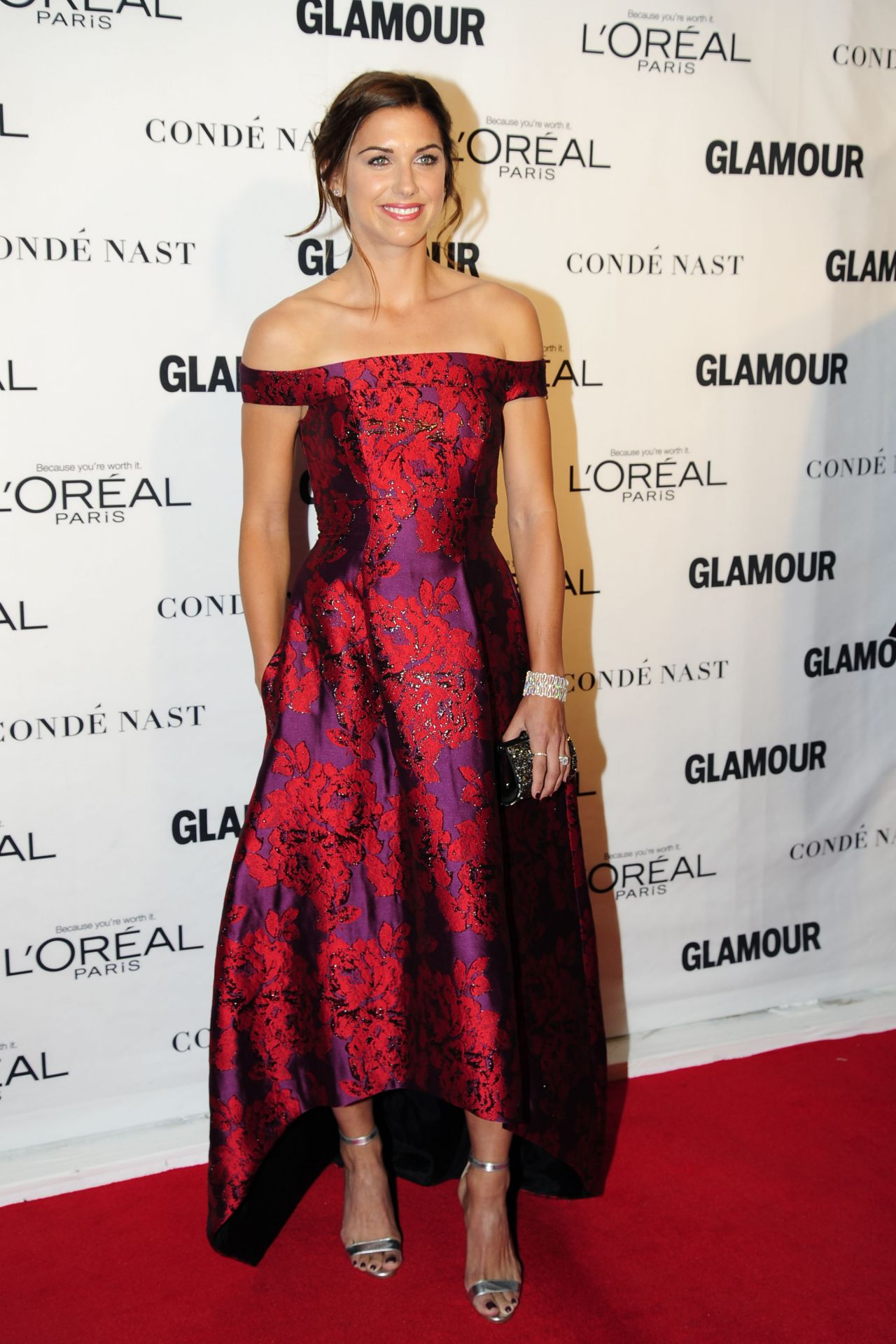 alex morgan  u2013 2015 glamour women of the year awards in new