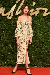 Alexa Chung – British Fashion Awards 2015 in London