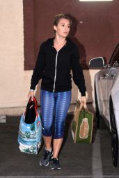 Alexa PenaVega - at the DWTS Studio in Hollywood, November 2015
