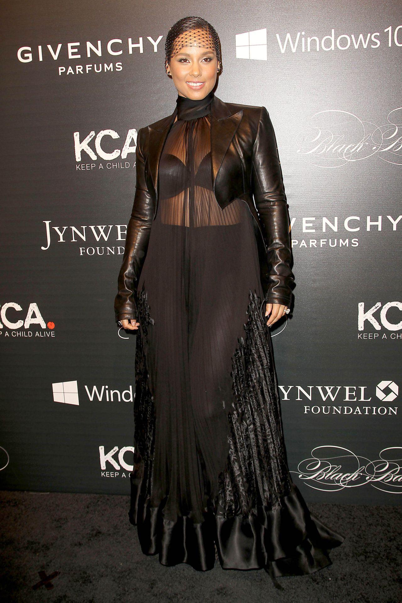 Alicia Keys - 2015 Keep a Child Alive Black Ball in New ... Alicia Keys New York