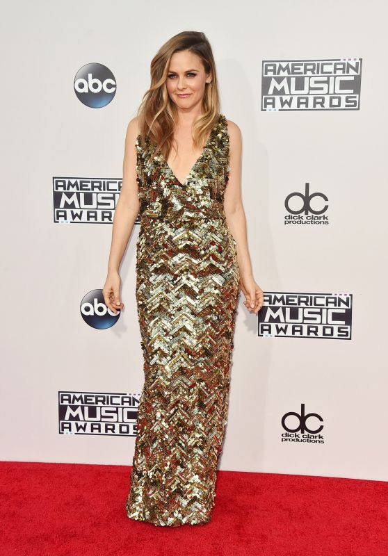 Alicia Silverstone - 2015 American Music Awards in Los Angeles
