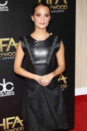 Alicia Vikander – 2015 Hollywood Film Awards in Beverly Hills