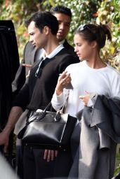 Alicia Vikander - Outside the Chateau Marmont in Los Angeles, November 2015