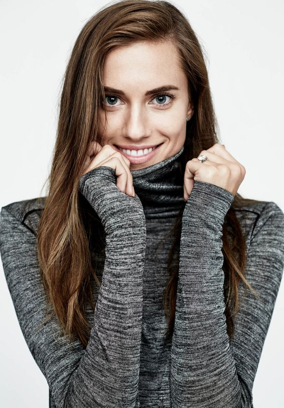 Allison Williams - Photoshoot for Vince Holiday Campaign 2015