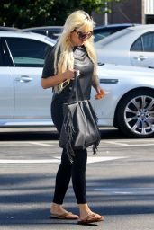 Amanda Bynes - Out in Los Angeles, October 2015
