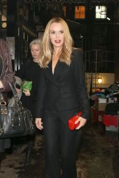Amanda Holden - Leaving The London Palladium After Attending The ITV Gala, November 2015