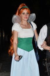 Amanda Michalka – Just Jared Halloween Party in Los Angele, October 2015