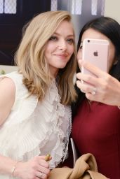 Amanda Seyfried - Espace Clé de Peau Beauté at Bergdorf Goodman in NYC, November 2015