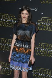 Amber Anderson – Fashion Finds The Force Event in London, November 2015