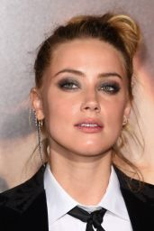 Amber Heard - The Danish Girl Premiere in Westwood, November 2015